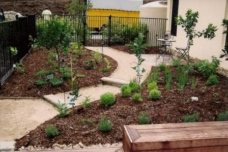 garden paths meandering - Garden Design Brisbane