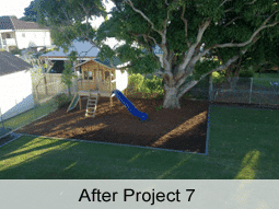 Brisbane landscaping before and after