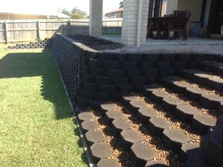 Sunshine Coast Retaining Walls - link block