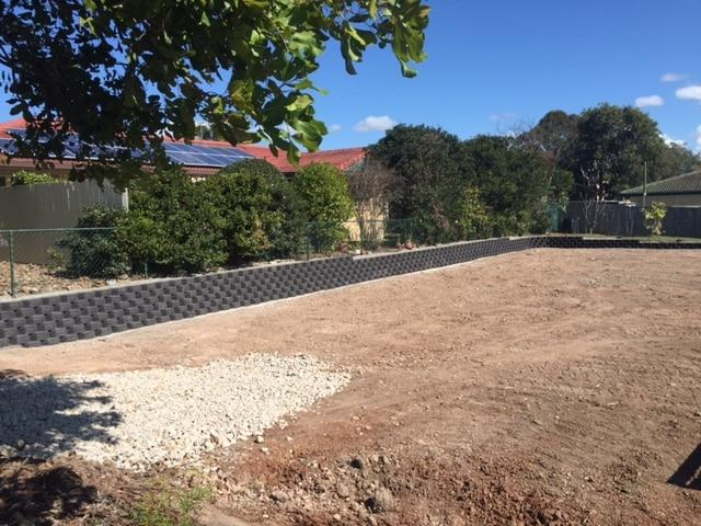 retaining wall Sunshine Coast - link wall