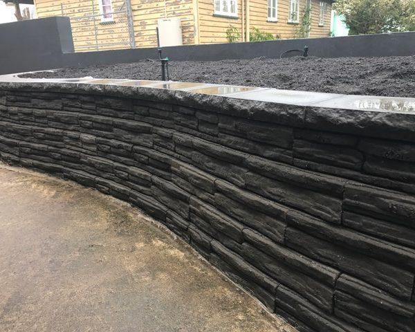 Natural Impressions Retaining Wall Brisbane - Sunshine Coast