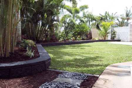 Tropical landscaping North Brisbane
