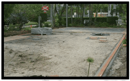 Landscape process - landscape under construction - Brisbane