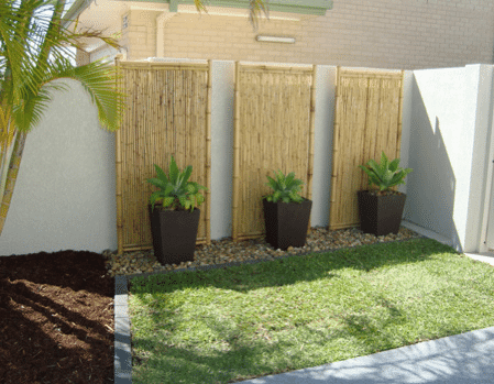 timber screens for feature