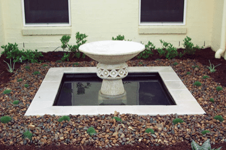 Water Features Brisbane Landscaping