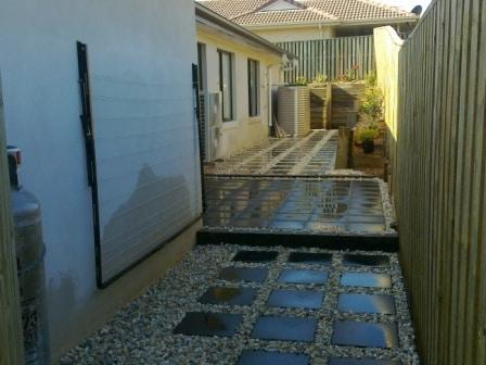 paving and steppers - Brisbane landscaping