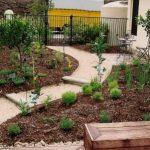 Formal herb gardn - Brisbane garden design