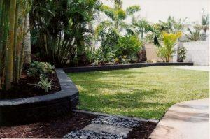 tropical garden design Redcliffe