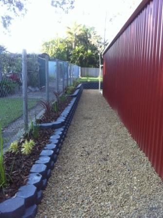 terraced link wall Brisbane