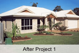 Sunshine Coast landscaping before and after