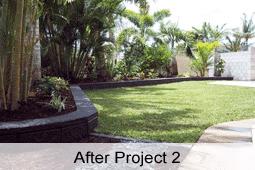 Tropical Graden design