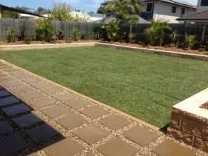 North Lakes garden design after image
