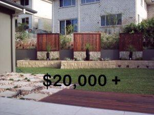 Backyard landscaping Brisbane