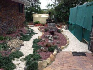 Landscaping Sunshine Rockery
