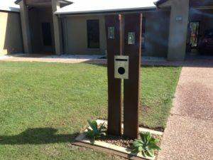 Letter Box by landscapers
