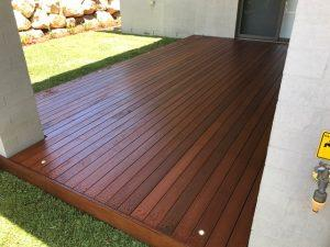Alfreco Decking - After landscape completion Brisbane