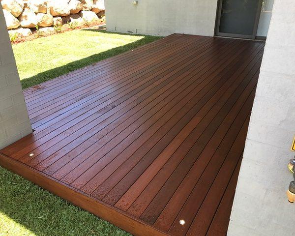 Alfreco Decking - After landscape completion Brisbane