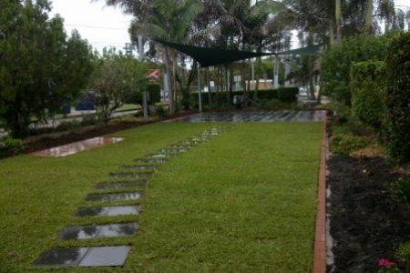 Brisbane landscaping garden design project