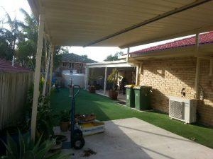 Naturescape Landscaping north Brisbane - Before
