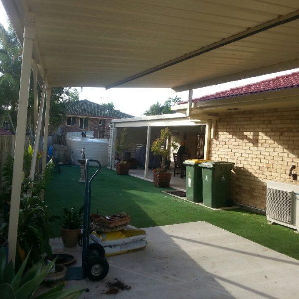 Naturescape Landscaping north Brisbane - Before