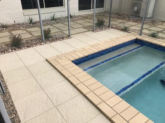 Brisbane paving brisbane garden design and landscaping for Garden state pool scene quote