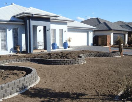 Retaining Walls Sleepers Link Blocks Landscapers
