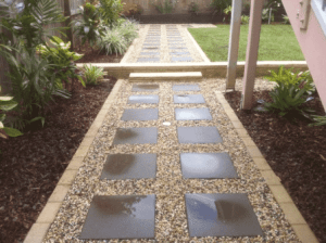 Back yard landscaping Brisbane