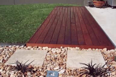 Timber Deck - Brisbane Landscaping
