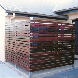 Timber screens - Brisbane landscapers