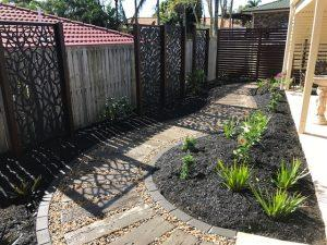 Naturescape landscaping , north Brisbane after