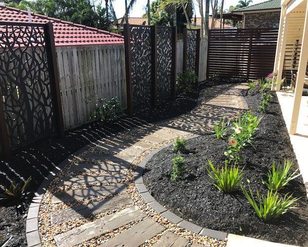 Naturescape landscaping , north Brisbane after