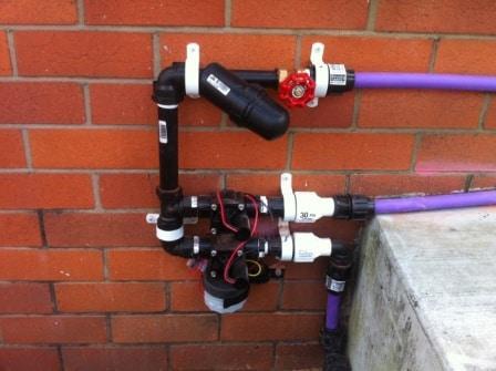 Brisbane sprinkler system