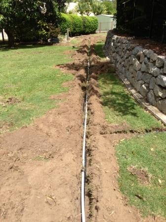 Brisbane irrigation installation