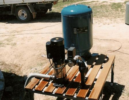 irrigation pressure pump