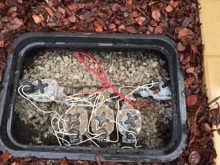 Irrigation sprinkler system manifold and solenoids