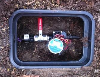 irrigation controller- hunter node inground