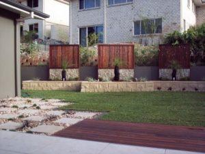 Brisbane Landscaping - Brisbane garden landscape with mini spot light garden lighting