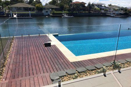 Landscapers brisbane | swimming pool decking