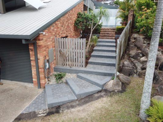 Landscape steps - Brisbane Landscaping