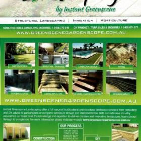 Brisbane Landscaping Brochure by Instant Greenscene