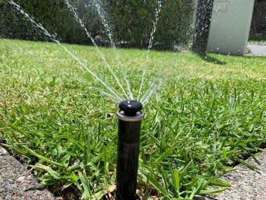 Irrigation Brisbane - irrigation sprinkler - reticulation system
