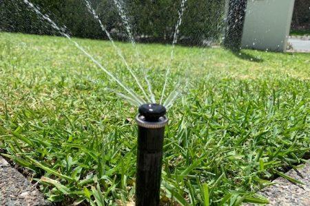 irrigation sprinkler - reticulation system Sunshine Coast