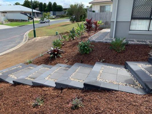 Landscape steps - Landscaping Brisbane