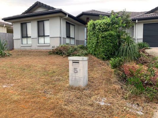 Landscapers Brisbane - Before landscape works