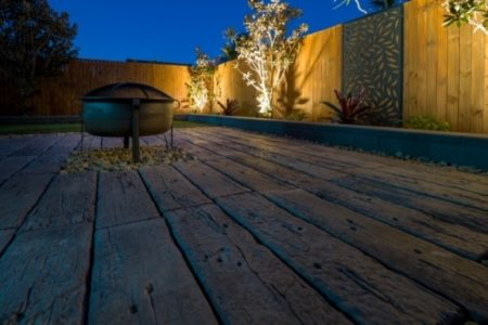 Paving and garden design North Brisbane
