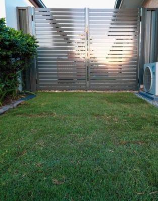 Aluminium Gates - Brisbane landscape project