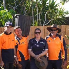 The team at Instant Greenscene - landscapers Brisbane