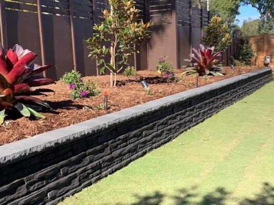 Natural impression retaining Wall